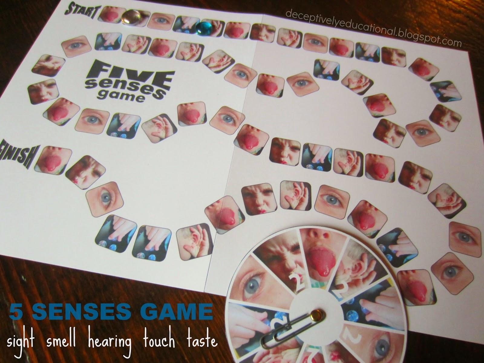 Relentlessly Fun Deceptively Educational 5 Senses Free