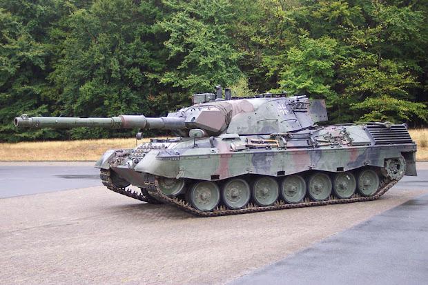Rudy' Tank Tempur Utama Leopard 2 Jerman