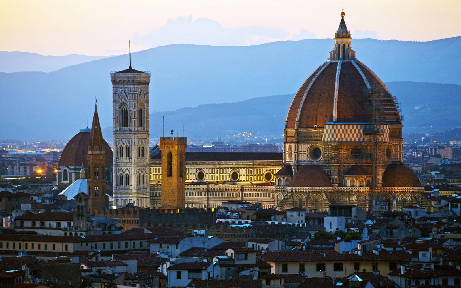 Italian Florence: Beautiful Landscapes Wallpapers