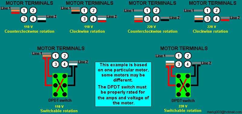 Ac Motor Speed Picture: Ac Motor Reversing Switch