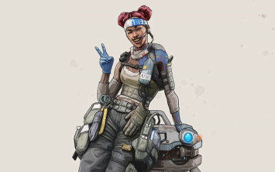Apex Legends Lifeline Artwork - Fond d'écran en Full HD 1080p