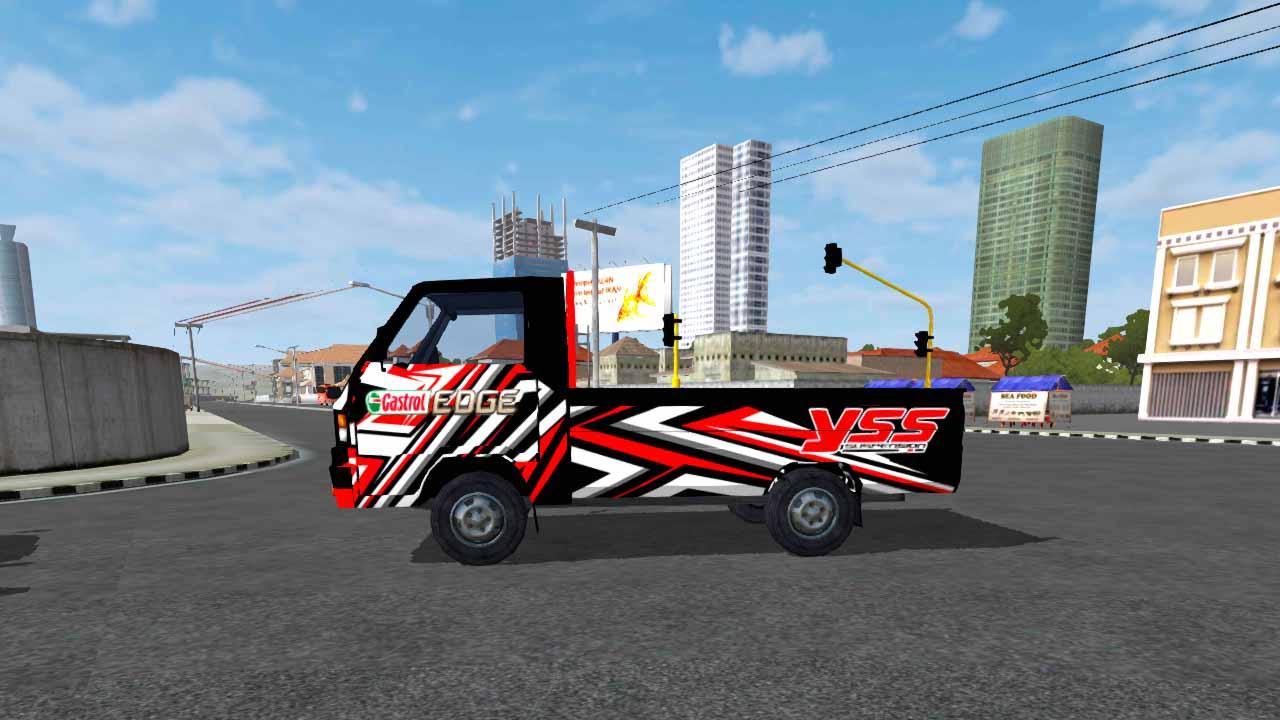 55 Mod Bussid Mobil Pick Up L300 Terbaik