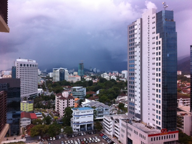 Storm At Penang Island: Malaysian Meanders: The Hunger Games 2: Penang Is Catching