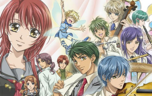 Top Best Romance Magic School Anime List - Kiniro no Corda: Primo Passo (La corda d'oro: primo passo)