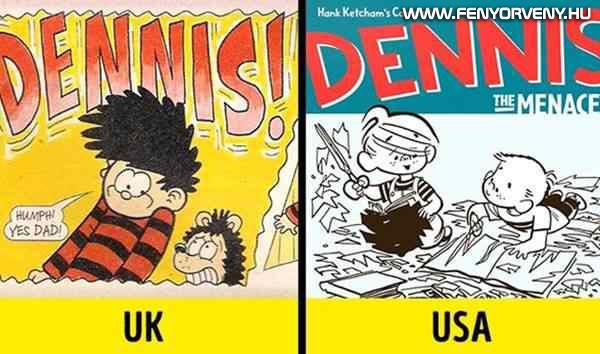 Dennis, a komisz képregények