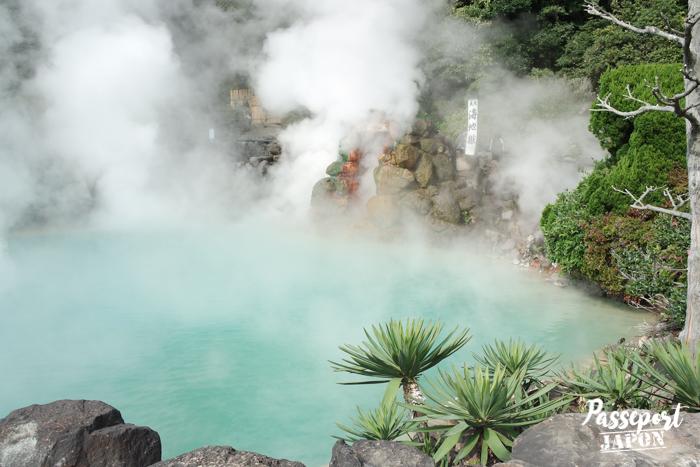 Source bleu azur, Umi Jigoku, Beppu, Oita