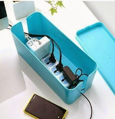 boite de rangement des id es pour ranger les cables lectriques. Black Bedroom Furniture Sets. Home Design Ideas