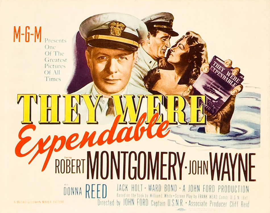 Image result for THEY WERE EXPENDABLE 1946 movie