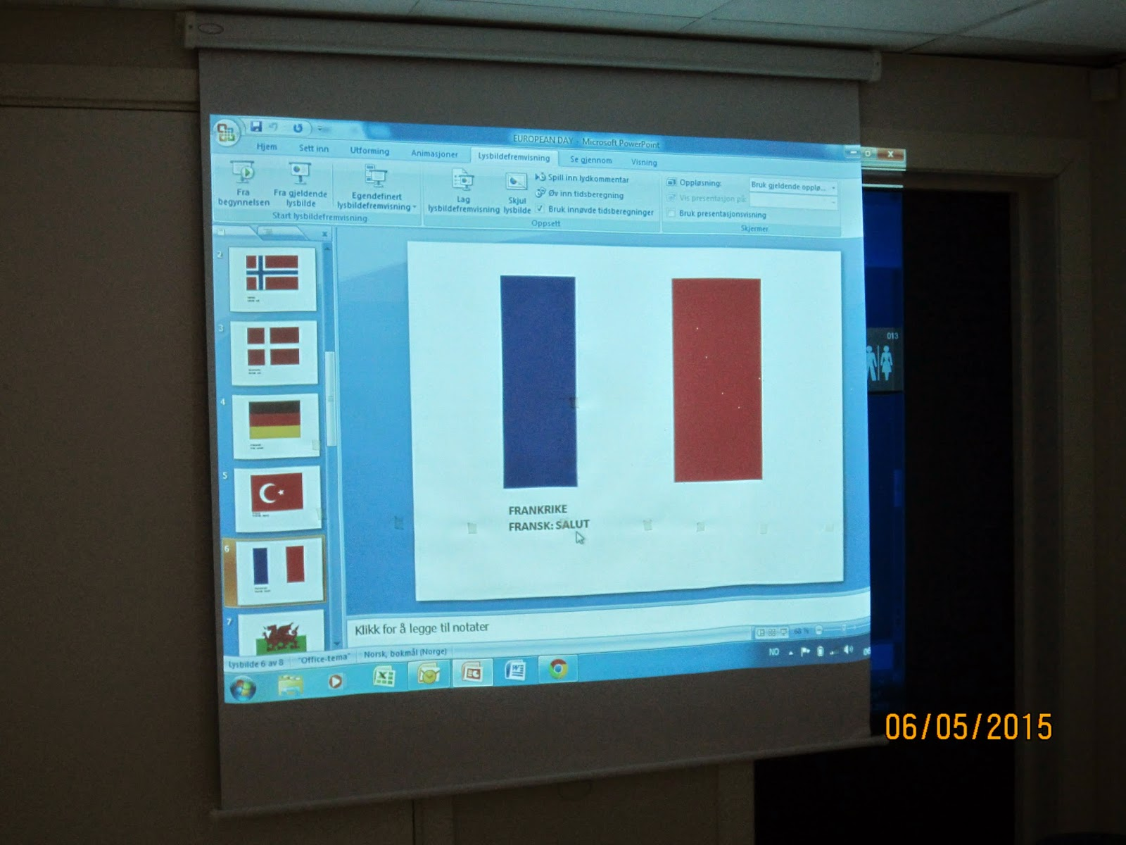 skjule notater i powerpoint