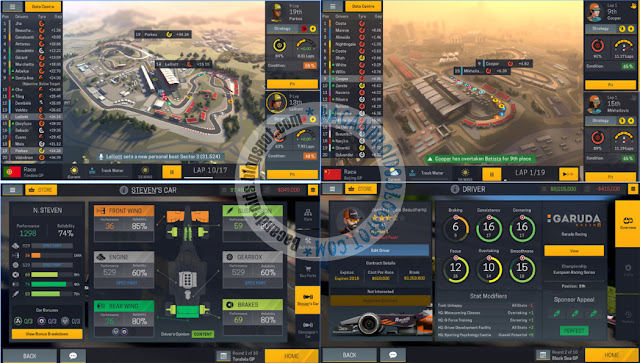 motorsport manager mobile 2 Apk Data Full mod