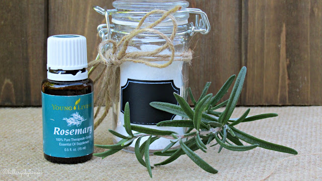 Rosemary Flavor-Infused Sea Salt, Using Young Living Essential Oils