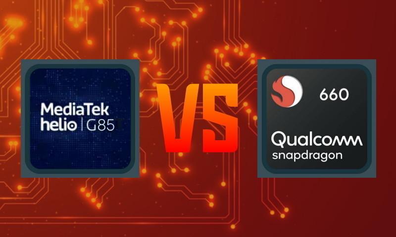 Benchmark Helio G85 vs Snapdragon 660 vs 665