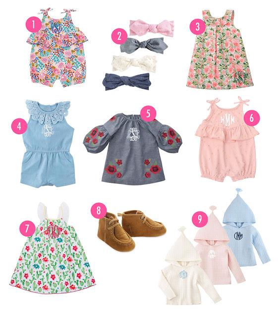 new spring rompers, hoodie, dresses & more