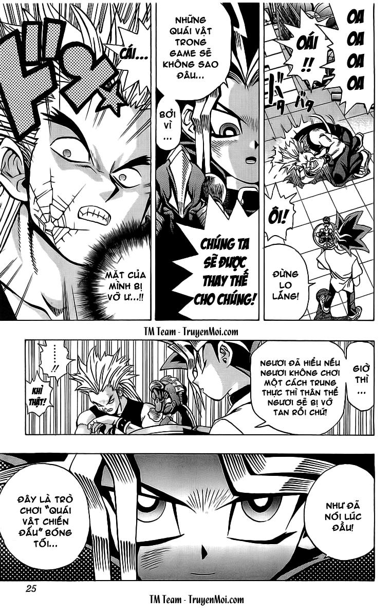YUGI-OH! chap 43 - quái chiến phần i trang 20