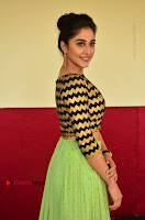 Actress Regina Candra Latest Pos in Green Long Skirt at Nakshatram Movie Teaser Launch  0127.JPG