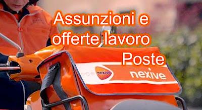 Poste Nexive lavoro e assunzioni (scrivisullapaginadeituoisogni.blogspot.it)