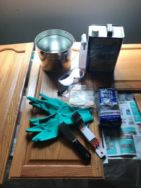 rubber, gloves, steel,  wool, metal, bucket, putty knife, paint, brush, paint