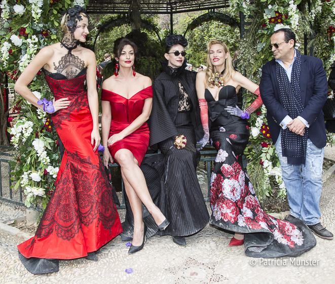 Ismini, Dororhea, Mara, Vicky and Vassilis Zoulias Fall/Winter 2017/2018