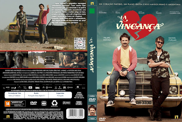 Capa DVD La Vingança [Exclusiva]