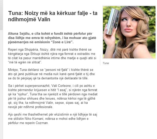 Worlds News: Tuna & Noizy & Vali Corleone
