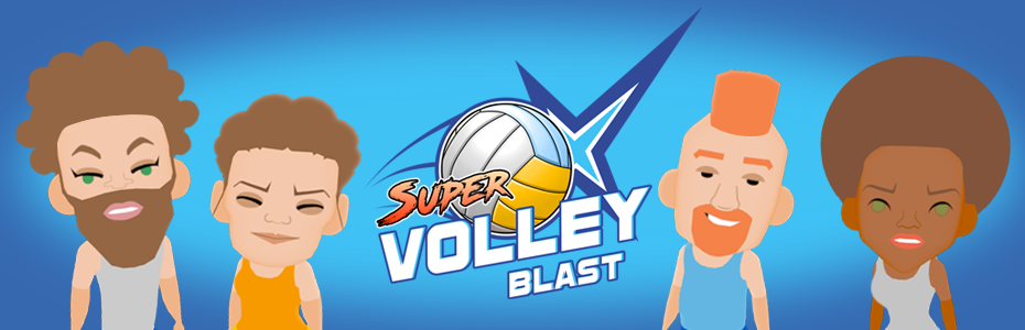 Super Volley Blast Website