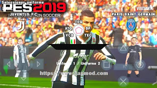 PES 2019 v1 MinThaKhin ISO PPSSPP Android