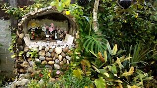 Como fazer uma gruta no seu jardim. Como fazer um oratório