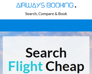 Airwaysbooking.com sitio para encontrar vuelos baratos