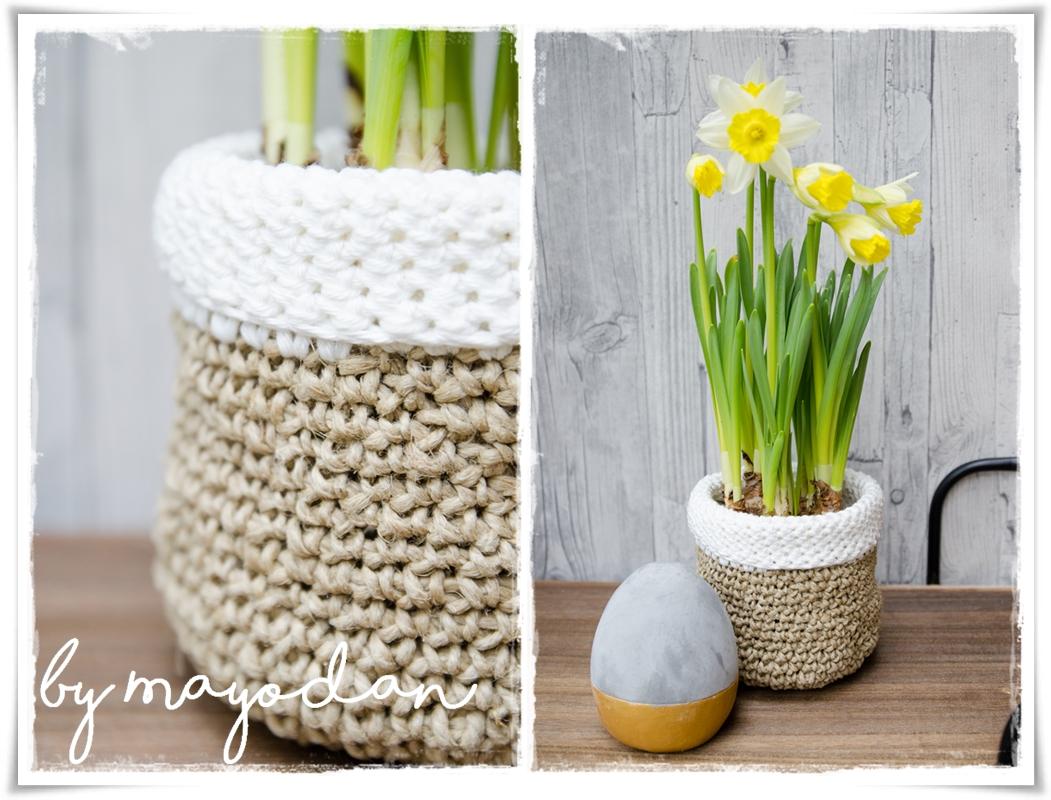 Diy übertöpfe Aus Paketschnur Mayodans Home Garden Crafts