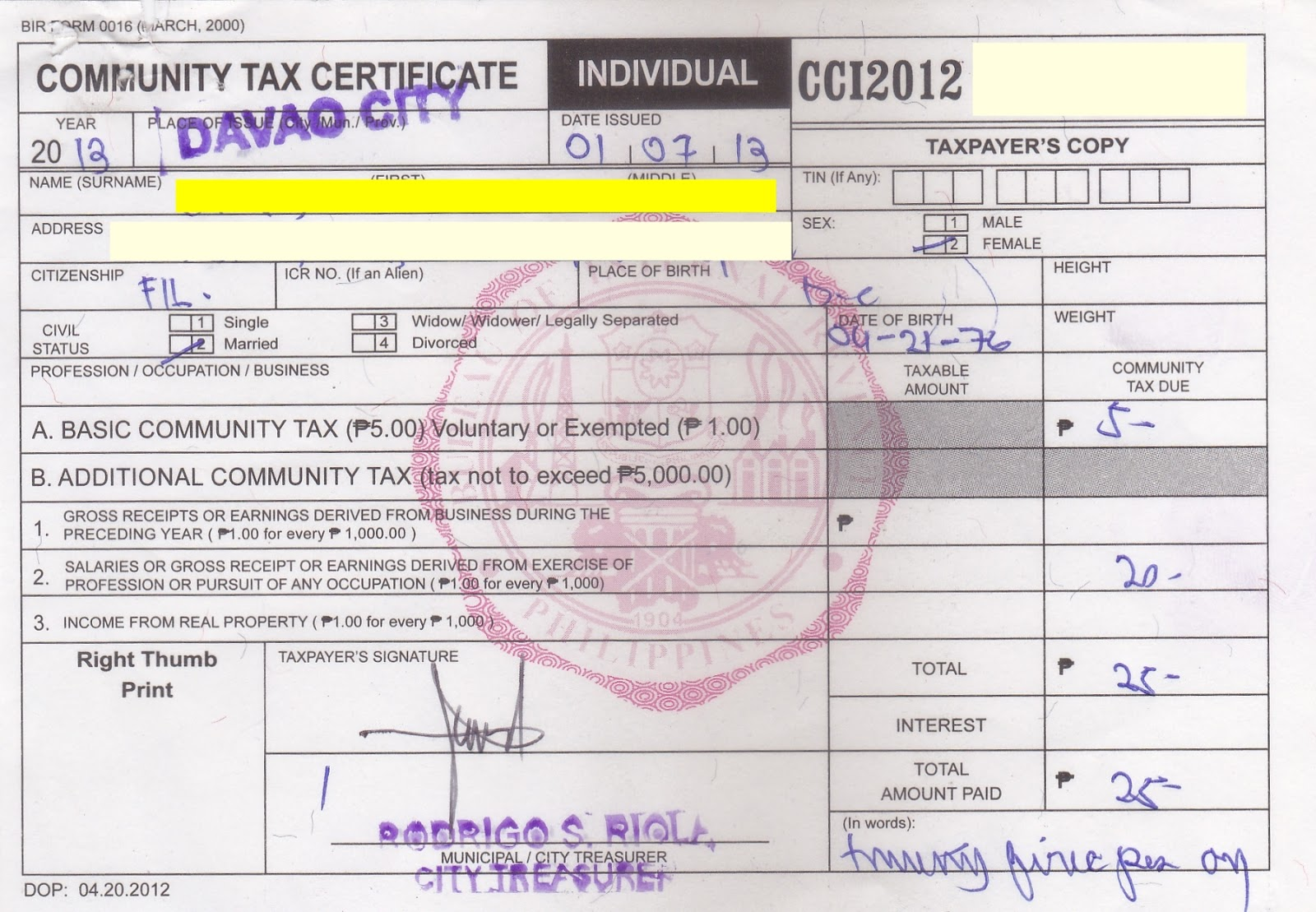 How to get a Police Clearance in Davao City - The CHARM Princess