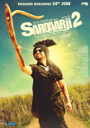 Sardaarji 2 2016 HDRip 450MB UNCUT Hindi Dual Audio 480p ESub Watch Online Full Movie Download bolly4u