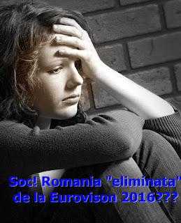 eurovision 2016 romania finala eliminata datorii