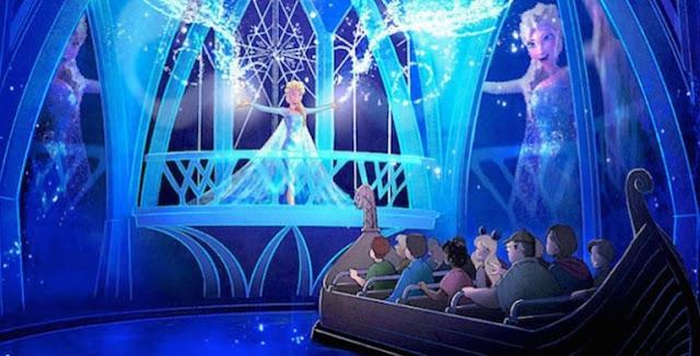 Atração Frozen no Epcot Orlando