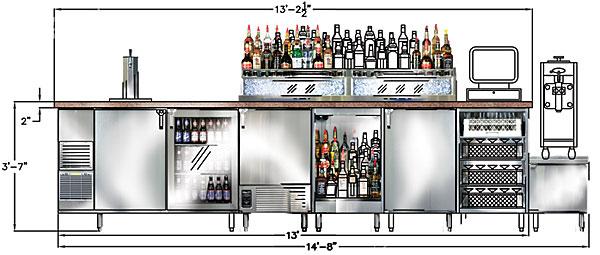 Kitchen Cabinet Layout Tool Remodel Hawaii Bag Zebra Pictures: Bar Design