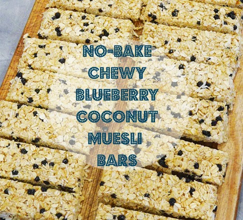 Thursday, April 23 LUNCHBOX LEGEND: No-bake chewy blueberry ...
