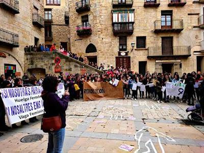 Huelga feminista Valderrobres