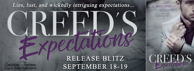 [New Release] CREED'S EXPECTATIONS by JD Hollyfield @jdhollyfield @EJBookPromos #UBReview #Giveaway
