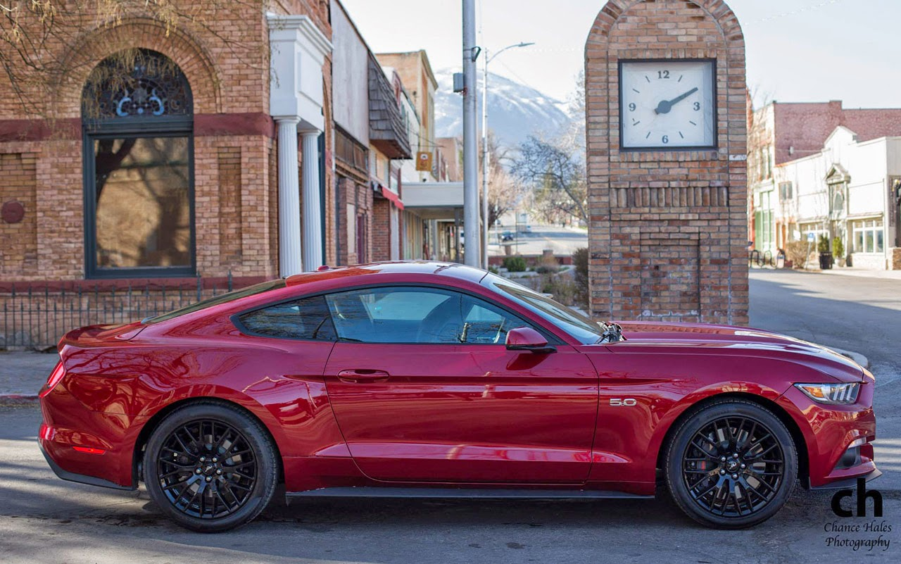 Ruby Red 2017 Ford Mustang Gt