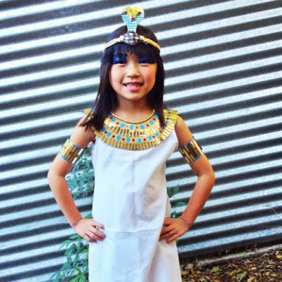 disfraz niña cleopatra