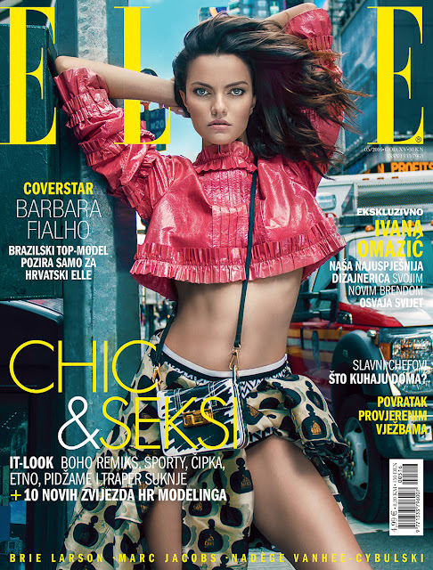 Fashion Model, @ Barbara Fialho by Elio Nogueira for ELLE Croatia, May 2016