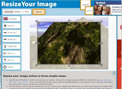 Thay Đổi Kích Thước Ảnh Online-Resize Picture Online