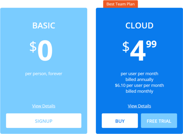 postman cloud pricing