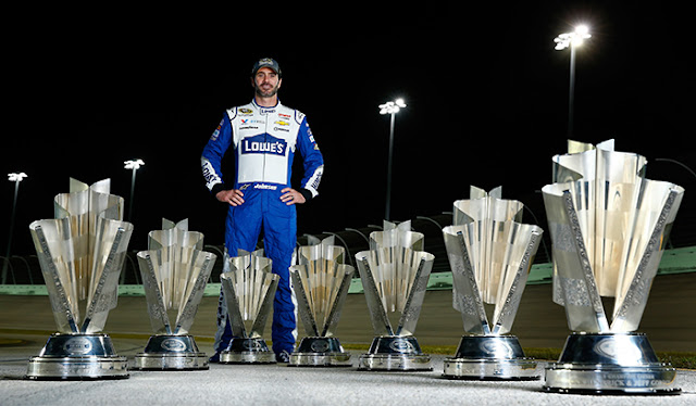 Jimmir Johnson Seven Trophies