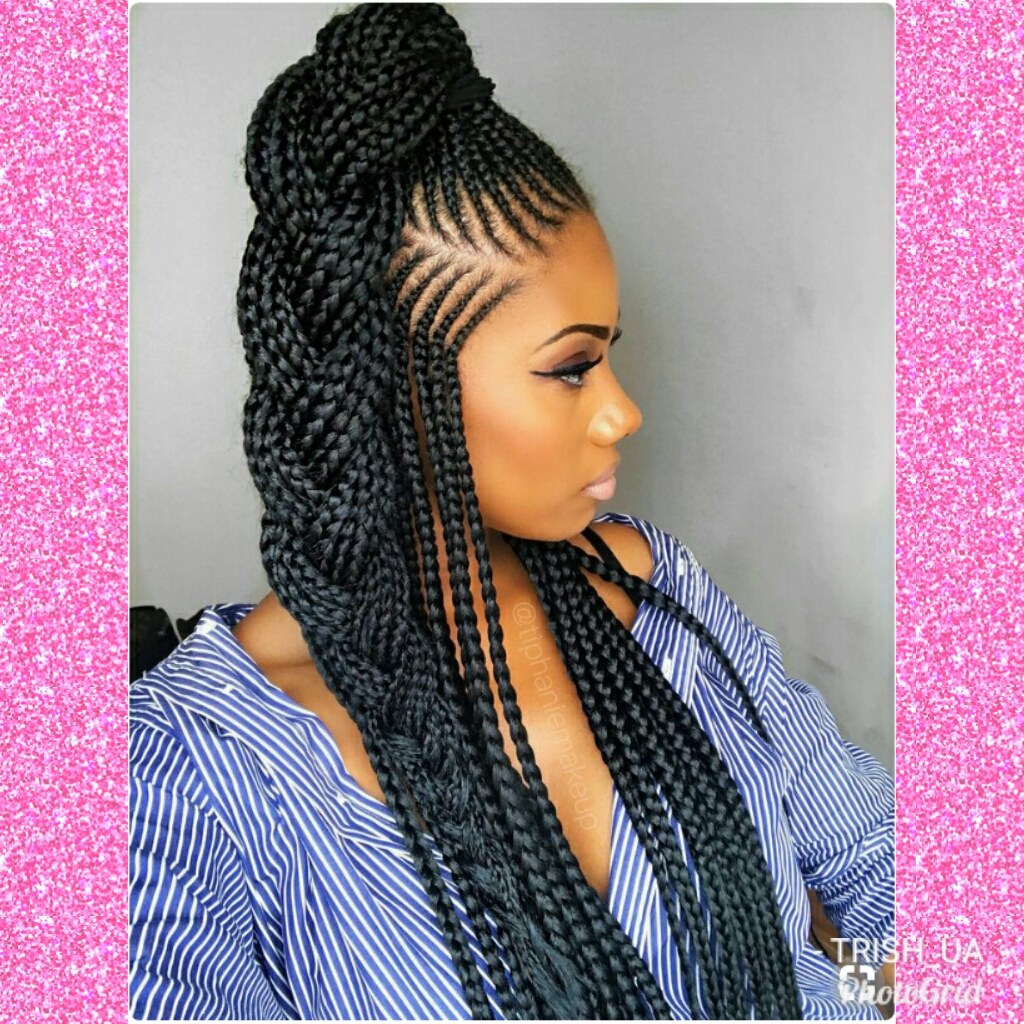 TOP 2019/2020 BEST AND TOP SUMMER HAIRSTYLES, GIANNA BRAIDS FOR BLACK GIRLS WOMEN AND FEMALE