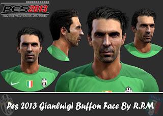 Face Gianluigi Buffon - Juventus 2016 Pes 2013