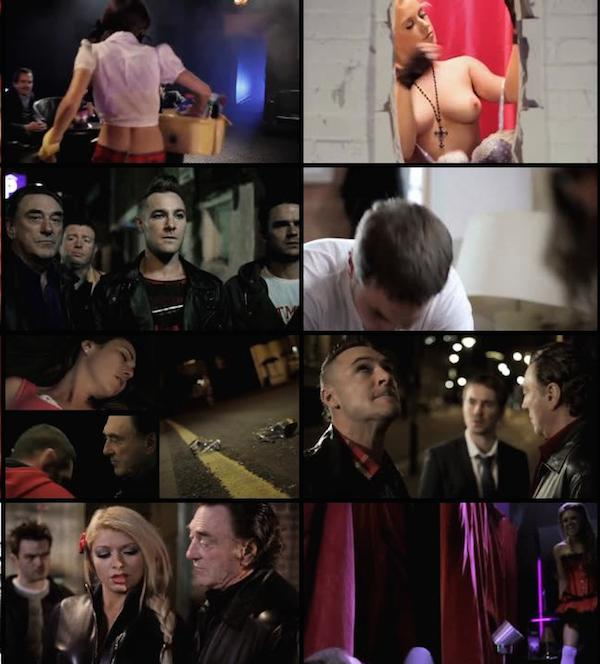 Strippers vs Werewolves Dual Audio BRRip 480p