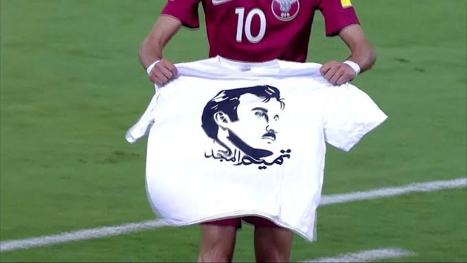 Qatar football team faces FIFA sanction for Emir shirt
