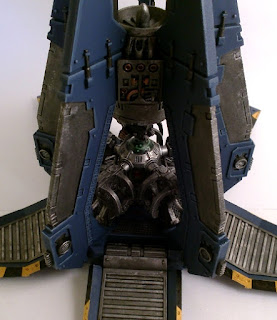 40k SW drop pod #2 - open w storm bolter - central console