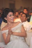 Shriya Saran in Stunning White Off Shoulder Gown at Nakshatram music launch ~  Exclusive (13).JPG