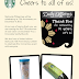 Starbucks to Celebrate 15th Anniversary